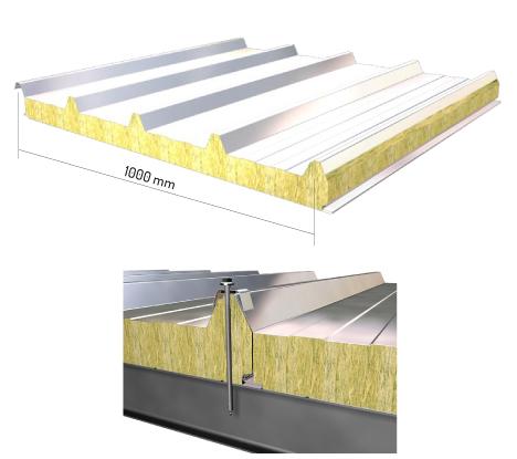 Perfiles mecar delegaci n comercial arag n construcci n for Panel de cubierta tipo sandwich